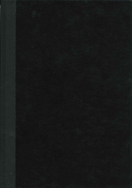 Chormappe schwarz