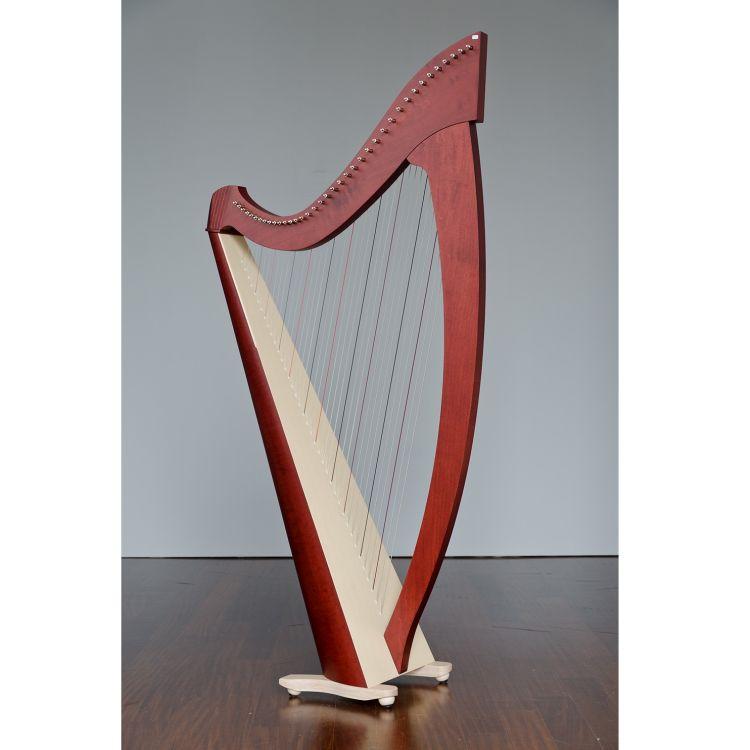 keltische harfe salvi modell titan silkgut darm mahagoni. Black Bedroom Furniture Sets. Home Design Ideas