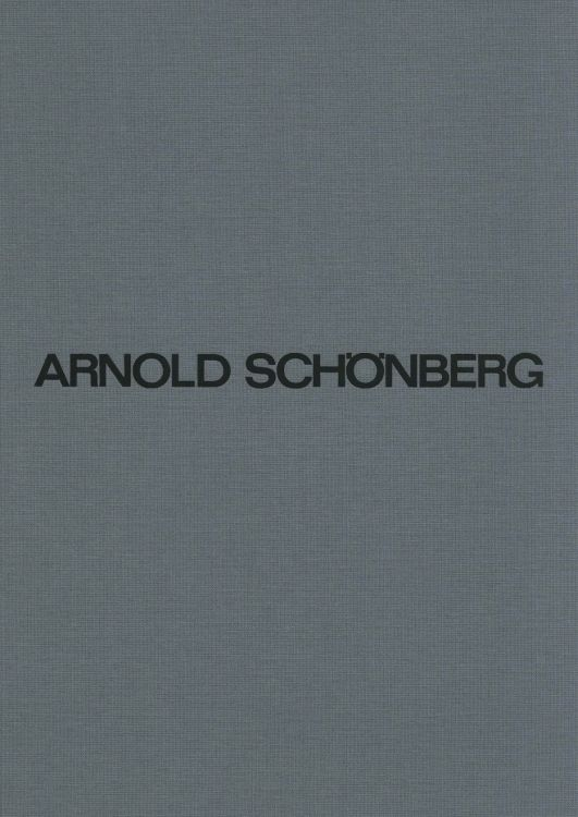 Arnold Schönberg